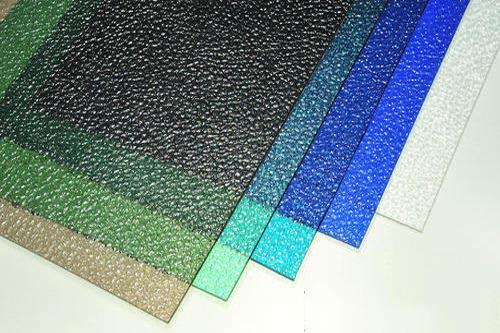 ورق پلی کربنات رنگی طرح دار