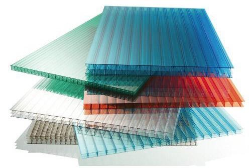 ورق پلی کربنات دوجداره - ورق پلی کربنات رنگی